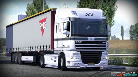 Sticker Tuning Poid Lourd by The Daf Xf V3 By 50k 187 Ets 2 Mods Truck Mods