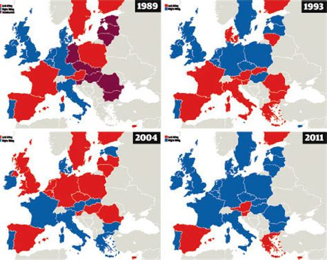 the changing political map of europe world news the