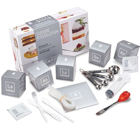 cuisine kit the molecular gastronomy exploration kit hammacher schlemmer