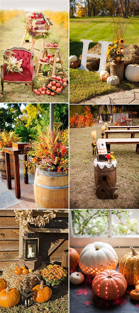 Autumn Wedding Reception Ideas by Fall In With These 50 Great Fall Wedding Ideas