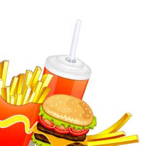 creative fast food products background vector 01 free