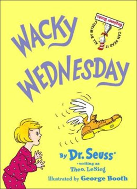 themes in dr seuss stories wacky wednesday book wikipedia