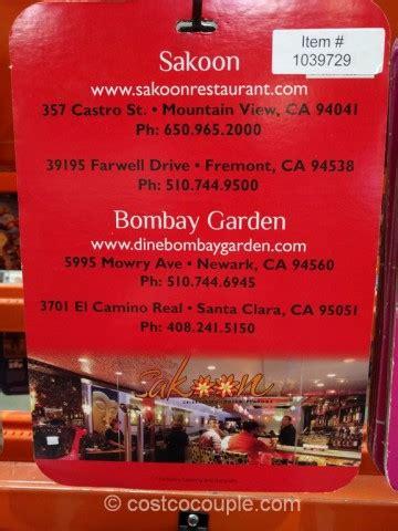 Bombay Gift Card - sakoon gift card