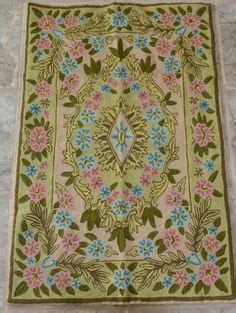 jacobean pattern definition crewel rug butterfly cream chain stitched wool rug 4x6ft
