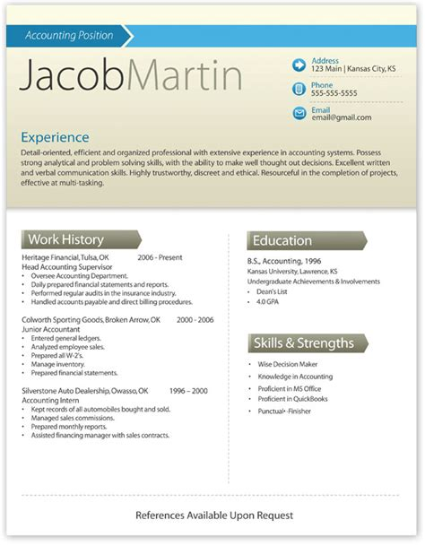 contemporary resume templates free word free modern resume template 3 free resume templates