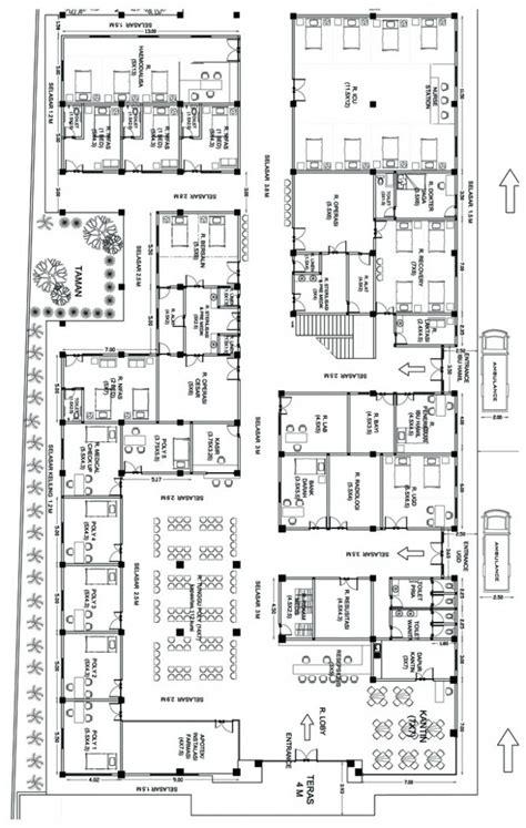 layout rumah sakit bersalin desain rumah 2016 multidesain arsitek