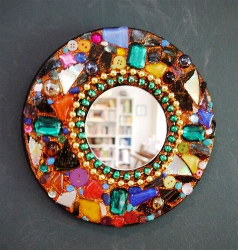 mirror craft for mosaic mirror library arts