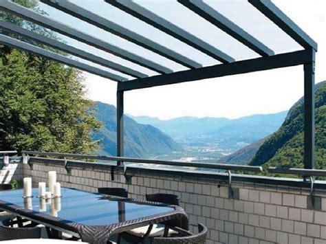 coperture per terrazzi coperture in policarbonato tettoie in policarbonato per