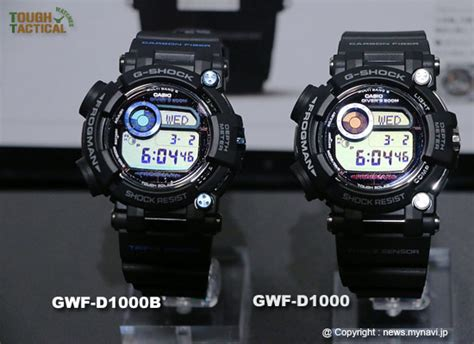 G Shock Frogman Gwf D1000 1 new g shock frogman gwf d1000 series goes deeper into