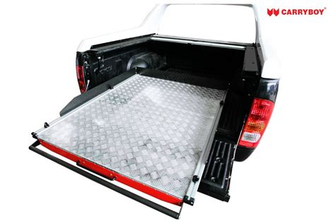 Floor L With Tray by Jeffs Shed Carryboy Slide Floor Cargo Tray Ute Back
