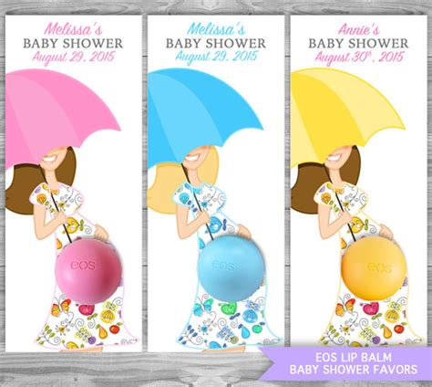 eos template for baby shower favors free eos favors umbrella baby shower eos lip balm holder diy