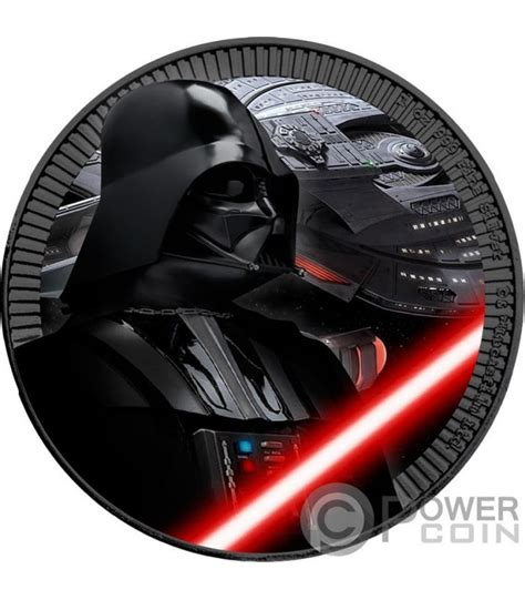 Coin Wars 2017 darth vader coloured wars 1 oz silver coin 2 niue 2017 power coin