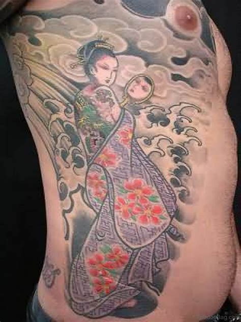 geisha tattoo designs 50 outstanding geisha for rib