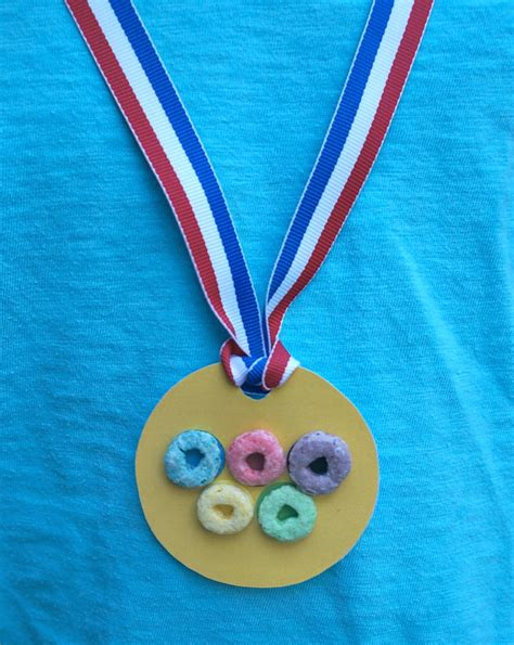 fruit olympics crafts teamusa olympics rings gold medal with