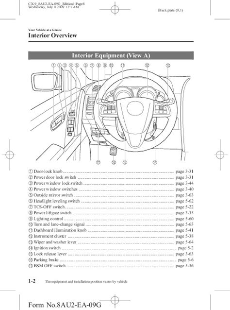 free auto repair manuals 2010 mazda mazda5 instrument cluster owners manual 2010 mazda 5 product user guide instruction