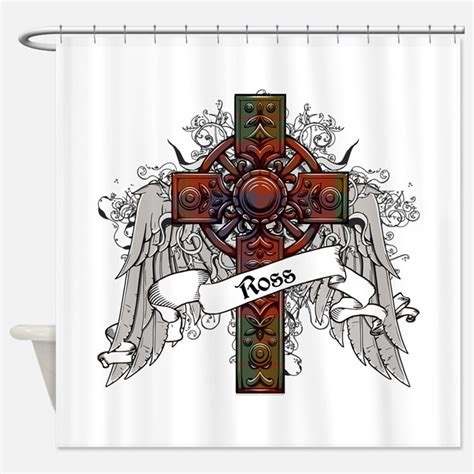 Ross Shower Curtains by Clan Ross Shower Curtains Clan Ross Fabric Shower