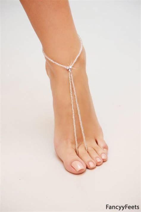 Barefoot Sandals, Beach Wedding Barefoot Sandal, Pearl Barefoot Shoes, Silver Barefoot Sandals