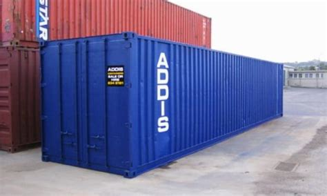 40 foot shipping container dimensions addis containers