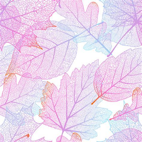 beautiful pattern beautiful autumn leaves vector seamless pattern 02