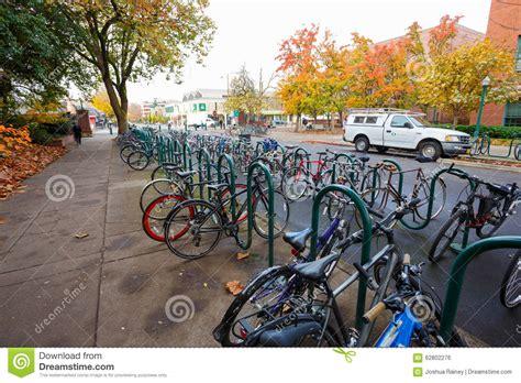 The Rack Eugene Oregon by Of Oregon Bikes Editorial Photo Image 62802276