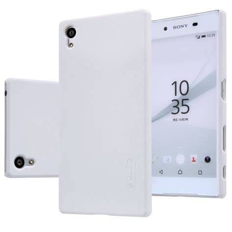 Nillkin Frosted Sony E6653 Xperia Z5 Dual puzdro nillkin frosted pre sony xperia z5 e6653 sony xperia z5 dual e6633 white