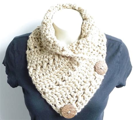pattern crochet cowl neck scarf crochet cowl pattern crochet scarf pattern button scarf