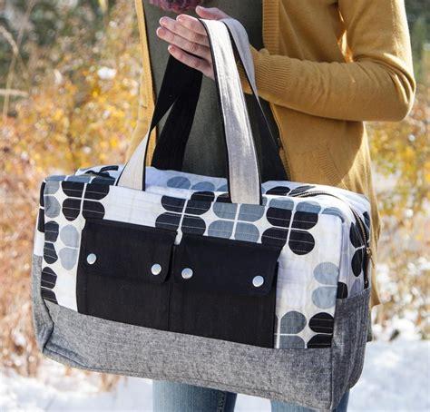 free pattern overnight bag do the duffel 7 stylish duffel bag patterns you can sew