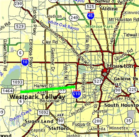 texas tollways map texasfreeway gt houston gt construction gt westpark tollway