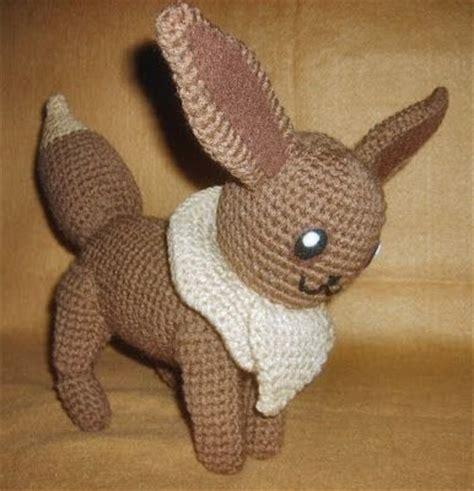 amigurumi eevee pattern free eevee pokemon crochet pattern crochet and knitting