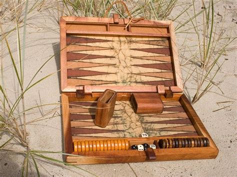Backgammon Handmade - handmade koa custom backgammon set by creative artistry