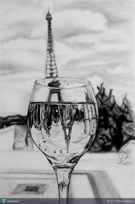Gorgeous Drawings by 70 Easy And Beautiful Eiffel Tower Drawing And Sketches