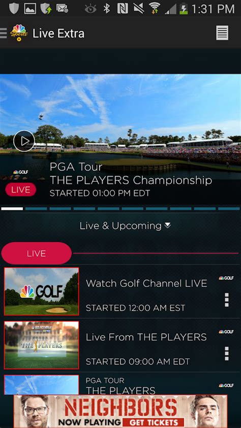 nbc sports live apk nbc sports live android apps on play