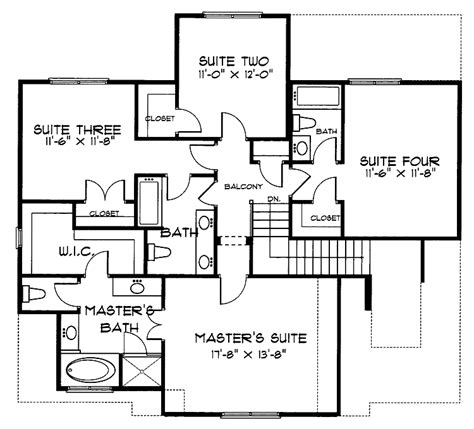 second empire house plans home plans homepw09977 2 241 square feet 4 bedroom 3