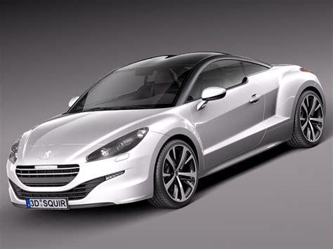 peugeot sports models peugeot rcz 2013 sport car 3d max