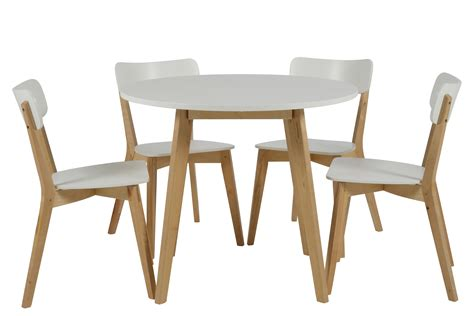 table ronde avec chaise table salle a manger scandinave
