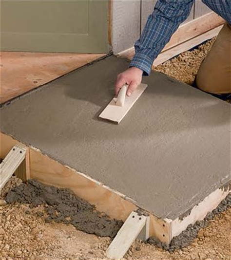 concrete ramp diy mother earth news
