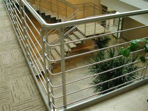 Steel Handrail Systems About Stainless Steel Guardrails Homes Design