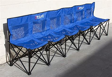 collapsible soccer bench best collapsible portable folding soccer team bench 6 seat