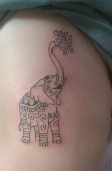 elephant tattoo designs trunk up 50 chinese elephant tattoos