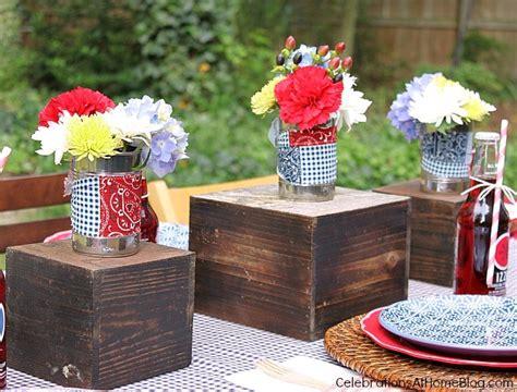 Backyard Bbq Table Centerpieces Backyard Bbq Free Printables Celebrations At Home