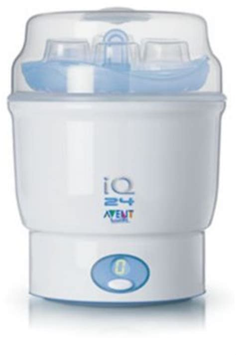 Iq Baby 6 Bottle Steam Sterilizier New philips avent iq 24 electronic steam steriliser reviews productreview au