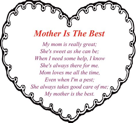 best poems 30 touching mothers day poems from