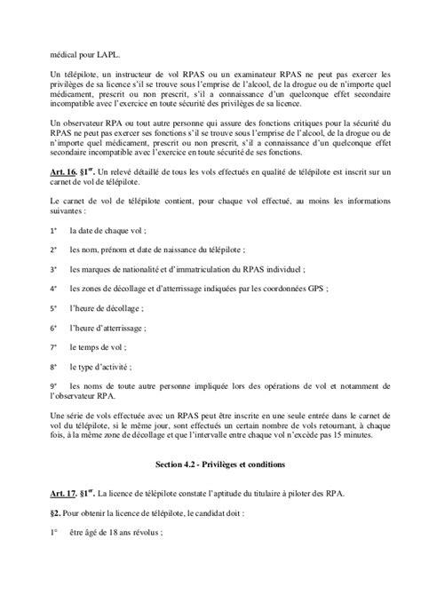 Arrêté royal relatif à l'utilisation des drônes en Belgique