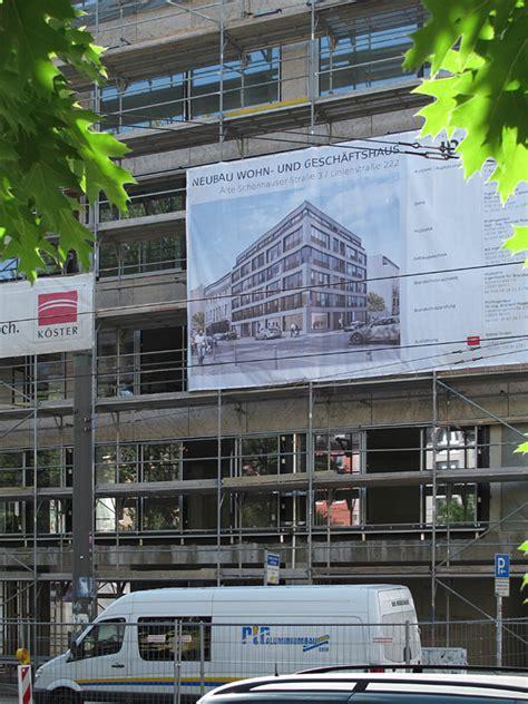 Bauschild Nicht Angebracht by Einzelne Projekte Linien Alte Sch 246 Nhauser Stra 223 E
