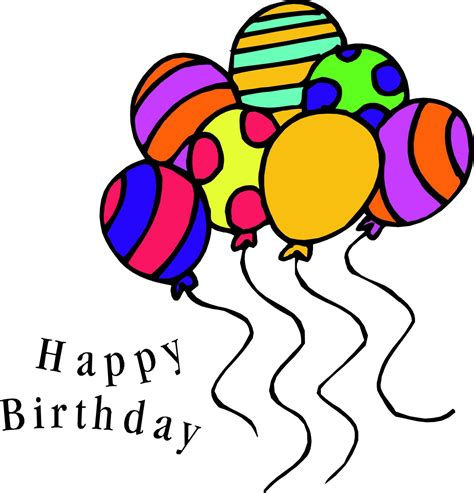 free happy clip free birthday happy birthday clipart free clipart images