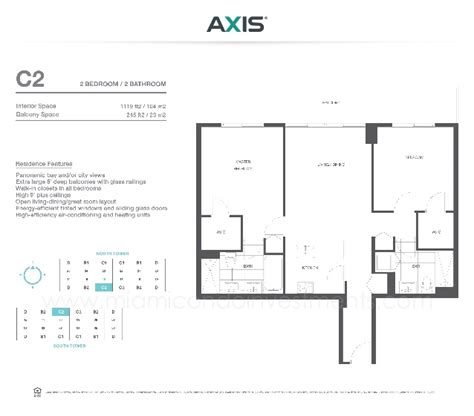 axis brickell floor plans axis brickell floor plans