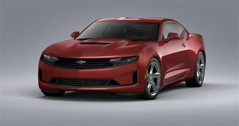 red means   chevrolet camaro