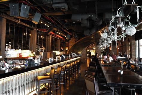 Cool Dining Rooms immigrant bar lounge restaurant jakarta asia bars