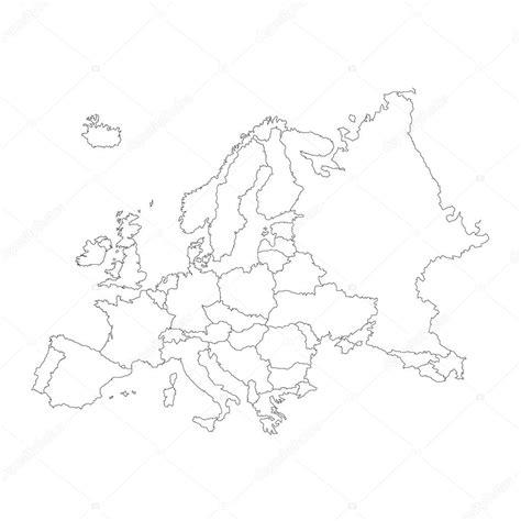 White Mes Eropa esquema de fondo limpio continente de europa archivo im 225 genes vectoriales 169 paulstringer