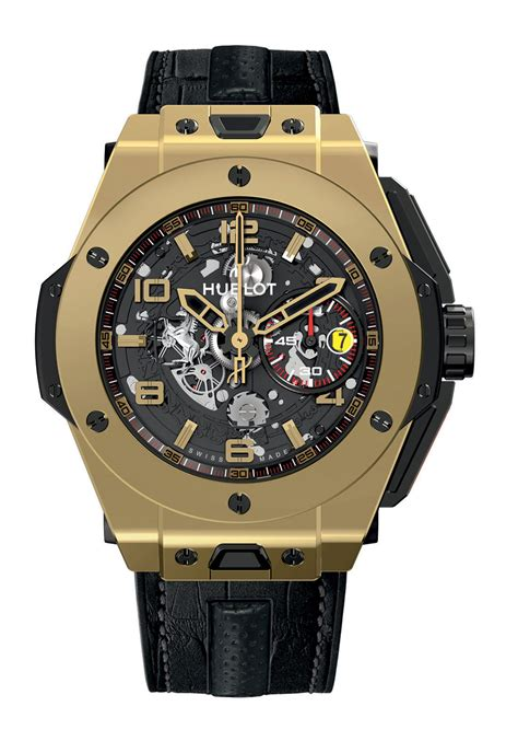 Hublot Ferrari by Hublot And Ferrari Unveil The First Collaborative Watch
